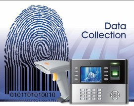 Job costing software bundled with biometric scanner and barcode reader