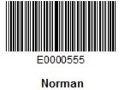 Employee NORMAN Barcode